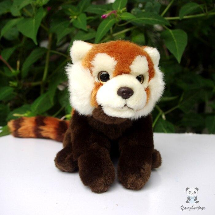 Peluche animaux raton laveur poupée jouet Simulation Panda rouge jouets pour enfants cadeaux poupées