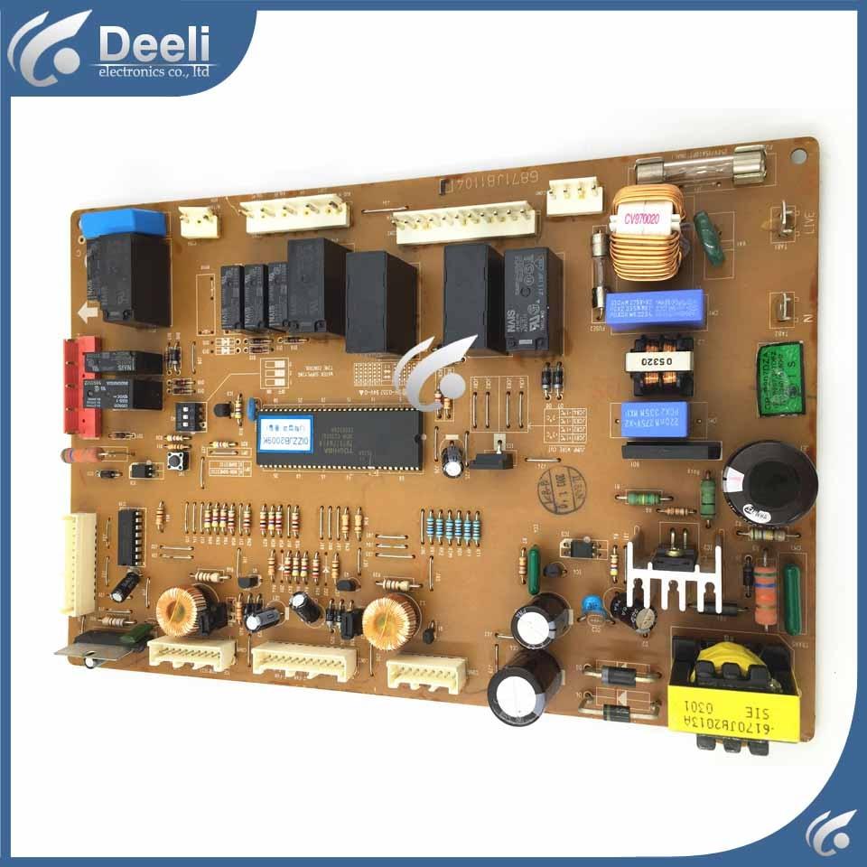 95% new used for refrigerator module board 6870JB8009B 6871JB1104J inverter board driver board frequency control panel frequency converter shf 7 5 k board cpu board control board dmc12008b 7 5kw