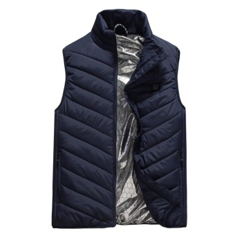 Electric Heater Heated Man Jacket Vest Waistcoat Woman Coat Feather Thermal Softshell Jacket Winter Heating Clothes Electric Heaters