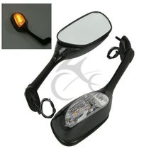 Motorcycle Accessories LED Turn Signal Rear View Mirrors For Suzuki GSX-R600 750 06-15 GSXR 1000 05-15 3 Style led rear view mirrors for suzuki gsxr 600 750 2006 2015