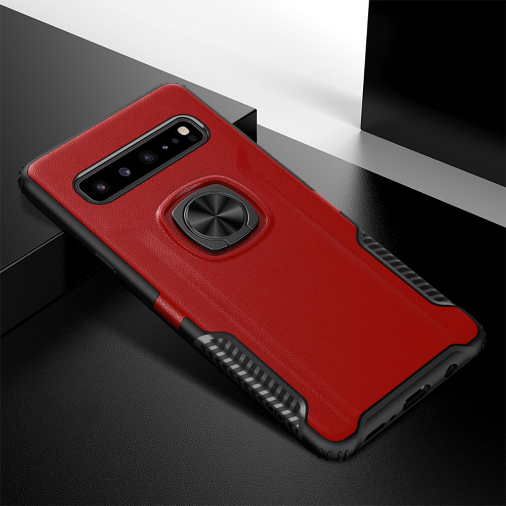 KISSCASE Lxuxury Military Phone Case For Samsung S10 Plus J8 2018 Shockproof Ultra Slim Back Cover For Samsung Note 9 Capa Coque image