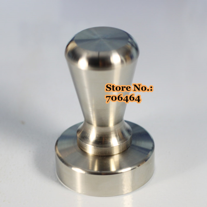 Free Shipping Stainless Steel Coffee Tamper 57.5mm Semi-automatic Coffee Pressure Powder Excellent Quality Competitive Price To Have Both The Quality Of Tenacity And Hardness