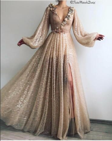 Robe élégante sur mesure