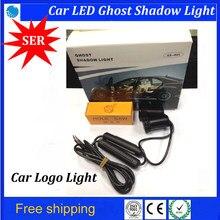 Quarta geração 7 W lâmpada laser Para Mzada 3/6 carro porta bem-vindo luzes hotest led logo porta de carro luz fantasma sombra luz