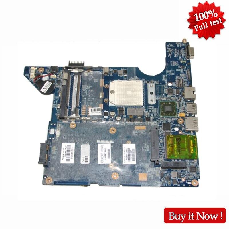 NOKOTION 510567-001 512105-001 For HP CQ40 Laptop Motherboard LA-4111P Socket S1 DDR2 Free CPU 511858 001 la 4111p main board for hp dv4 laptop motherboard socket s1 ddr2 with free cpu warranty 60 days