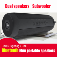 Portable Outdoor Waterproof Wireless Bluetooth Speaker Stereo Hi Fi Boxes Support TF Card FM Radio Super