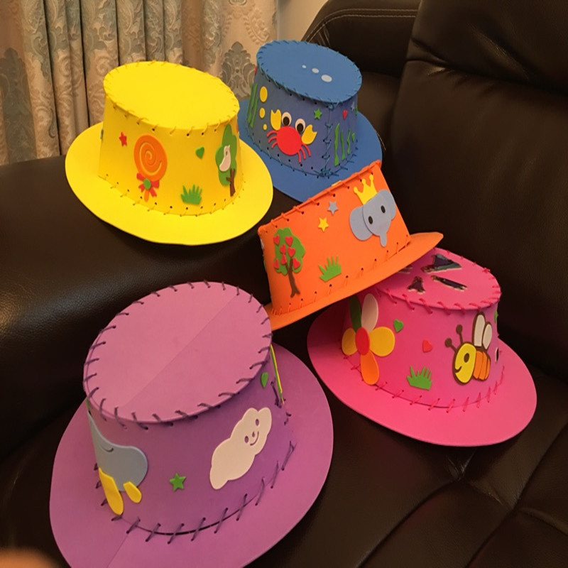 Summer Children, Summer Straw Hat, Straw Hat, Cartoon, Fashion, Cute New Baby, Toys, Props And Accessories, Unique.