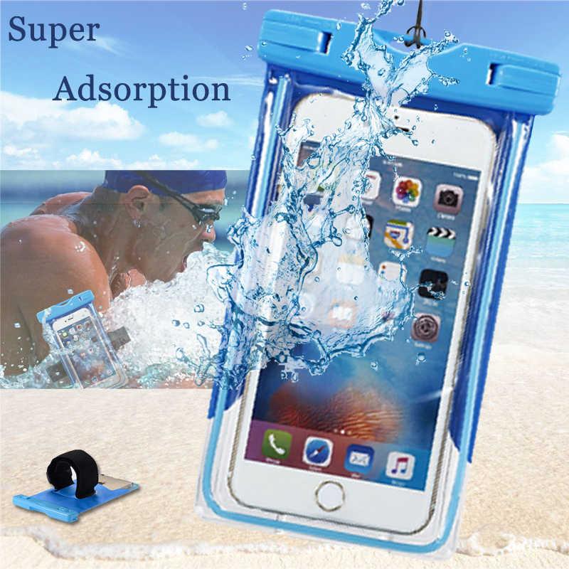 Водонепроницаемый мешок для LG G4 Stylus G3 G5 G6 чехол карман Дайвинг сухой под водой