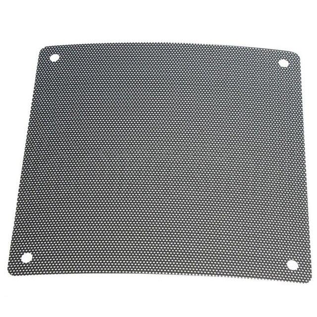 5PCS/lot 120mm Cuttable Black PVC PC Fan Dust Filter Dustproof Case Computer Mesh 1