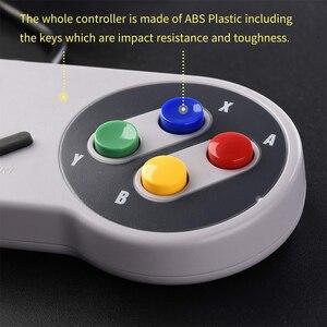 Image 5 - USB контроллер, 2 шт., супер игровой контроллер, SNES USB, классический геймпад, игровой джойстик для raspberry pi