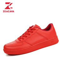 2016 Superstar New Design Red Men Casual Shoes European Style Fashion Breathable Durable Casual Shoes Outdoor