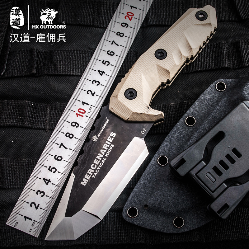 HX outdoor knife D2 materials blade fixed blade outdoor brand survival straight camping knives multi tactical hand tools hx outdoor knife d2 materials blade fixed blade outdoor brand survival straight camping knives multi tactical hand tools
