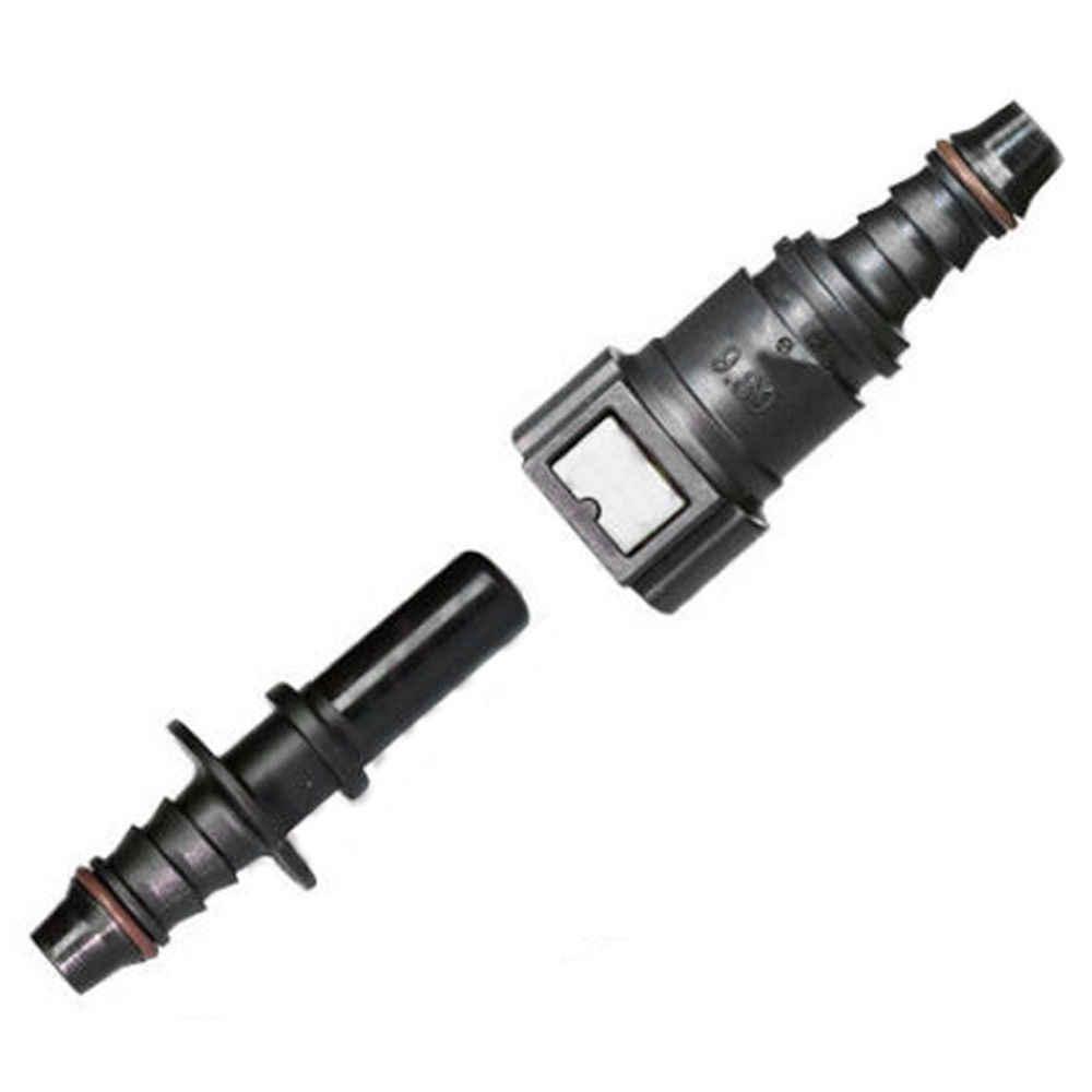 """5/16 """"to 3/8"""" การใช้ Hosepipe Quick Connect Adapter สำหรับ Auto น้ำมันเชื้อเพลิงเบนซินเติมน้ำมัน"""