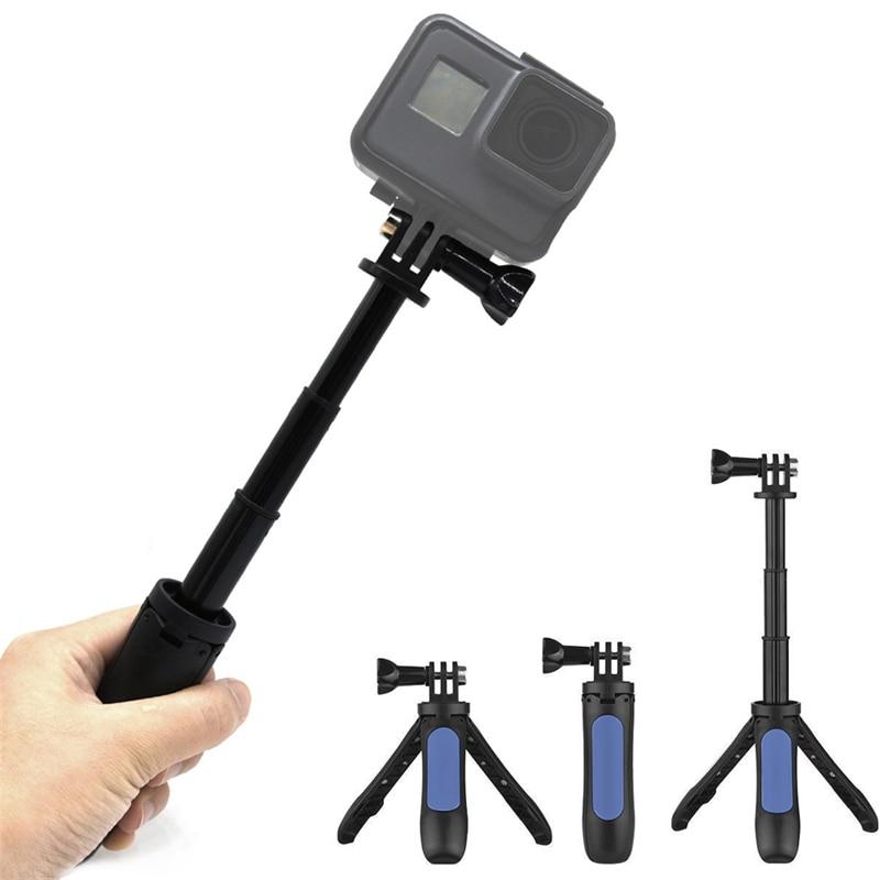 1 Pc Multi-funktion Selfie Stick Hand Grip Pole Stativ Für Hero Sport Kamera 4 Farbe Stativ Höhe: 10-21,5 Cm Niedriger Preis