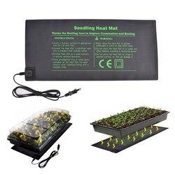 50X24cm US EU Plug Seedling Heat Mat Plant Seed Germination Propagation Clone Waterproof Home Garden Seedling Heat Mat
