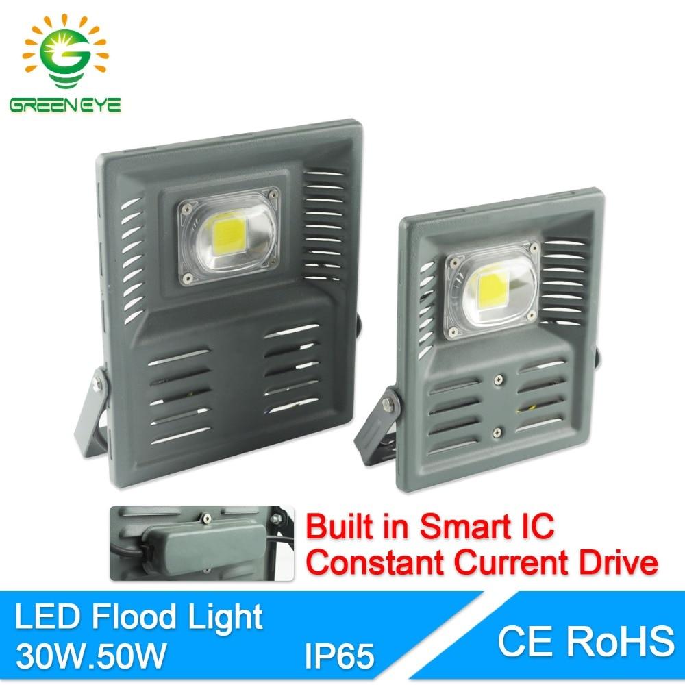 GreenEye 2Pcs LED Flood Light 30W 50W LED Floodlight IP65 Waterproof 220V LED Spotlight Refletor LED Outdoor Lighting Garden Lam