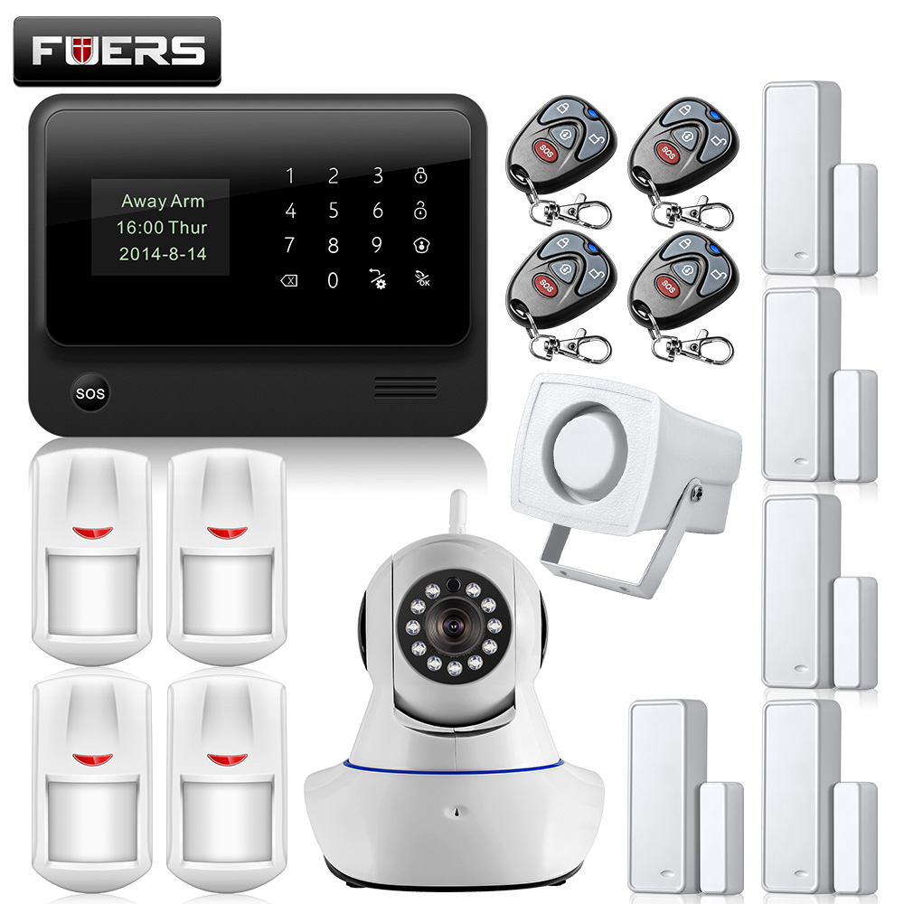 G90b Wifi Gsm Alarm Internet Gprs Home House Security