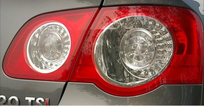 eOsuns rear lamp tail light assembly for volkswagen VW passat b6 2006-2011 sedan ветровики prestige vw passat b6 sd 06