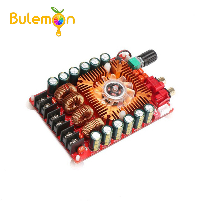 Digital Power Amplifier Board TDA7498E 2 x160W High Output Power Dual Channel Audio Stereo Amplifier Support BTL Mode Module