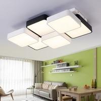 新しいキューブled長方形リビングルーム寝室の天井ランプシンプルでモ