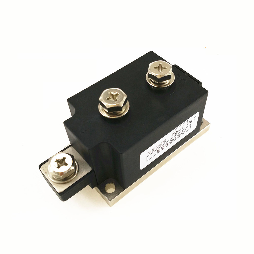 Anti-anti-diode MDA 400A 1600V Rectifier diode module brand new authentic mds100f 16 ling 100a 1600v made four three phase rectifier diode modules