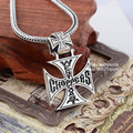 Black silver jewelry wholesale 925 sterling silver jewelry silver Thailand import Cross Pendant 041122w men and women