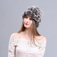 Korean Children Warm Winter Hat Rabbit Hair Female Hat Hat Knitting Wool Hat Thick Pure Rabbit