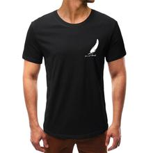 2019 Summer Mens Soild T shirt Fashion Round Neck Personality Print Short Sleeve Leisure Top Handsome Printing
