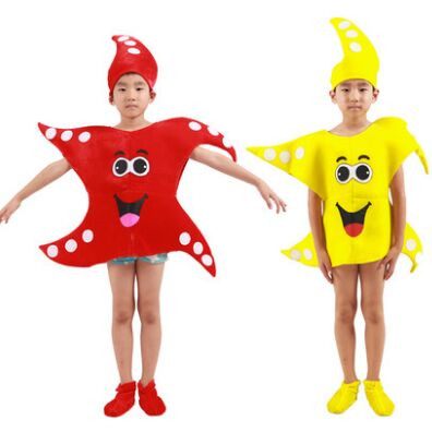 sea star costume for children ocean animal costumes lovely performance costumes kids festival dance costumes halloween cosplay circle