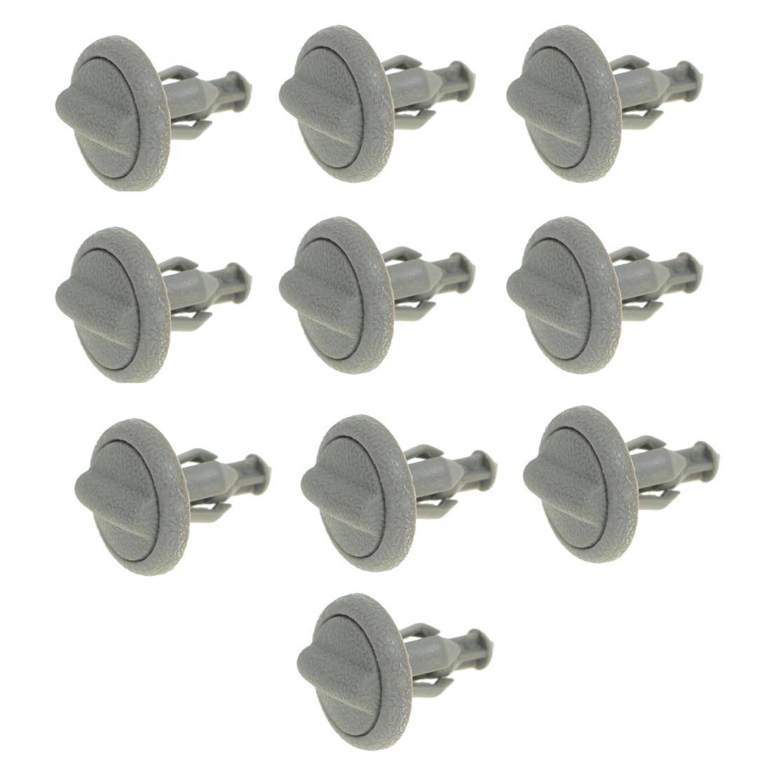 10 PCS Grey Plastic Parcel Shelf Clip Early Type End For Nissan Juke 799161KA3A