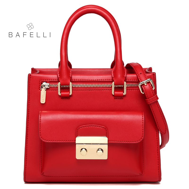 BAFELLI handbags split leather classic box flap shoulder bags handbags famous brands pink red black crossbody bags for women bag berzimer elegant vintage women shoulder bag stylish black green red orange pink shoulder stylish crossbody bags for women