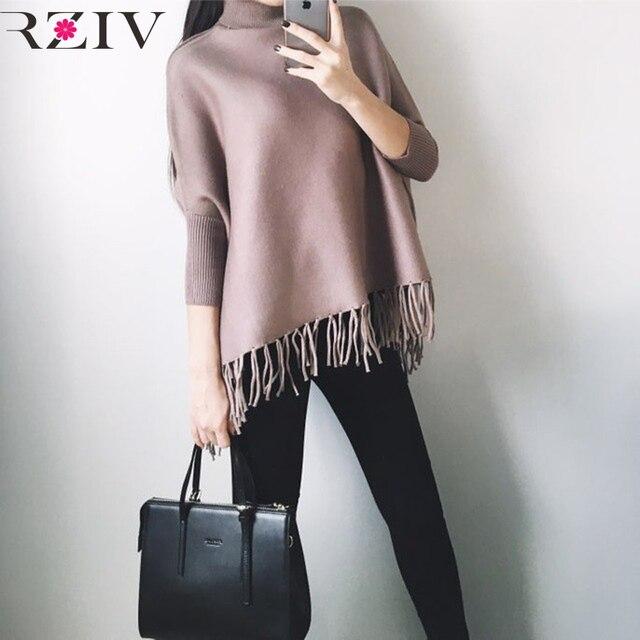 RZIV высокое качество вязаный свитер шерсть женщины свитера и пуловеры и женщин шерстяной свитер толстый