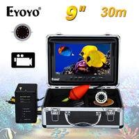 EYOYO 30M 9 HD 1000TVL 92degree Infrared Fishing Camera Video Fish Finder Waterproof Recorder DVR 8GB