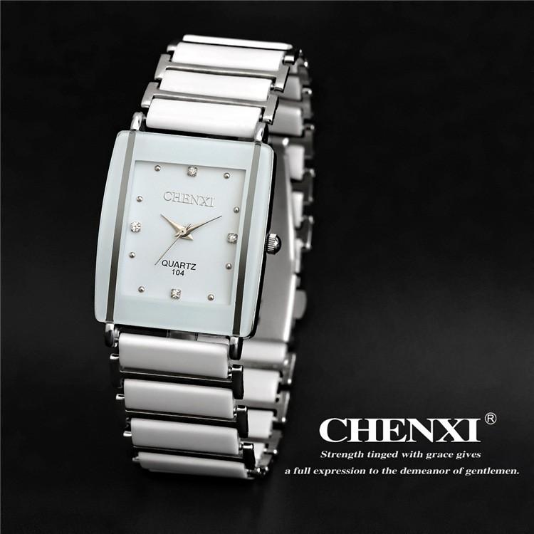 Quartz Watch, Women & Men Lover Ceramic Watches ,Quartz-watch Fashion Waterproof Dress Wrist watches 9