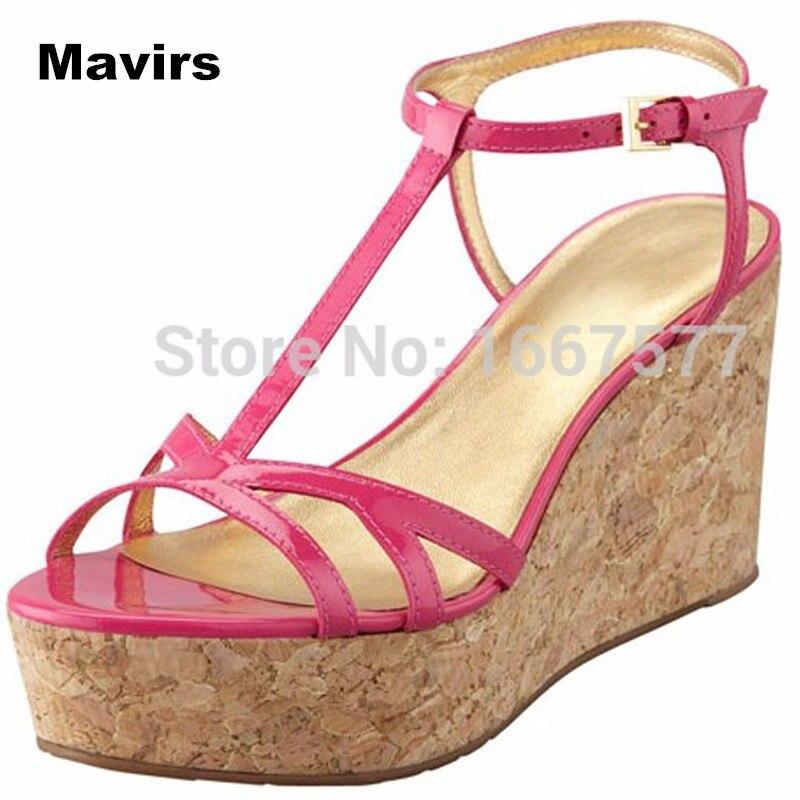 Mavirs Fashion leisure summer women's ladies girls college student princess bridal wedding party sexy buckle sandals pumps shoes