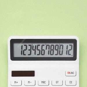 Image 4 - Youpin Kaco ليمو آلة حاسبة شاشة الكريستال السائل ذكي اغلاق وظيفة حاسبة طالب حساب أداة لا بطارية