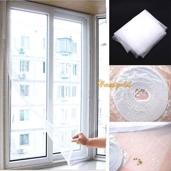 1pc DIY Mesh Screen Curtain Insect Fly Mosquito Bug Window ...