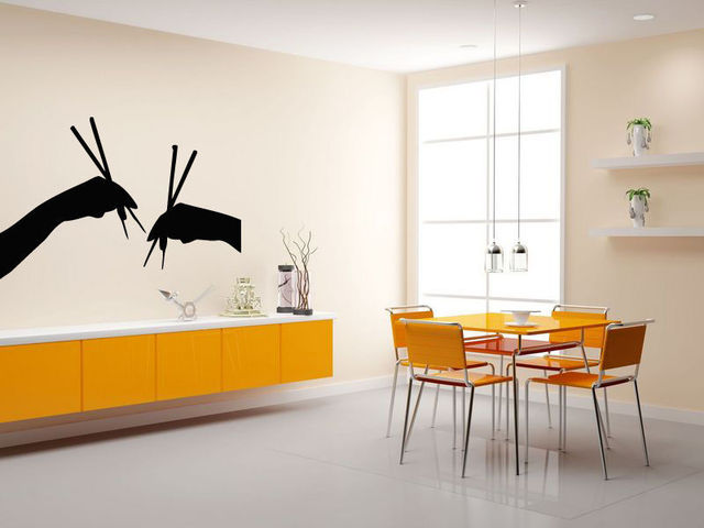 Aliexpress buy hot new sushi vinyl wall decal mural