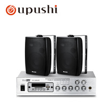50w bluetooth amplifier pa system 2 way on wall speaker 20w wall mount ceiling loudspeaker for oupushi surround sound system