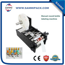 New arrival manual round bottle labeling machine