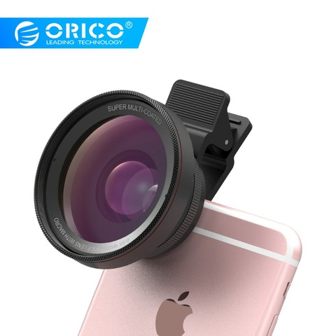 ORICO MPC-A 2 in 1 Mobile Phone Lenses Wide Angle + Macro Super Wide Angle Lenses Digital High Definition for Mobile Phone Pakistan