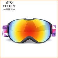 Snow Skiing Goggles Winter Unisex Ski Goggles Snowboard Mask Anti UV Anti fog Glasses gafas de esqui Ski Snow Snowboard Goggles
