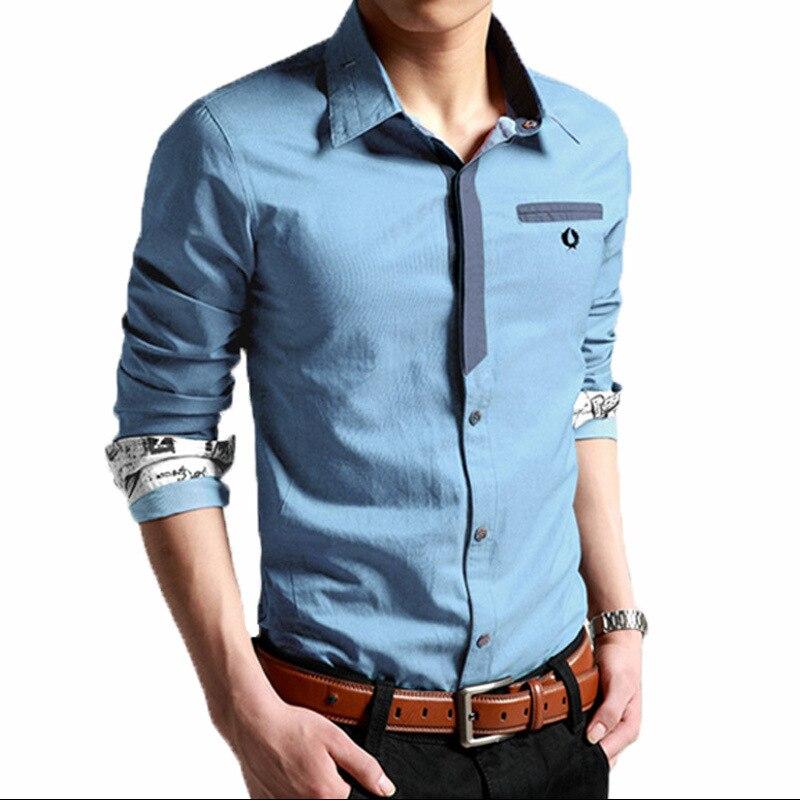 Korean Clothes Men Shirt Long Sleeve Streetwear Beach Summer Shirt Casual Slim Fit High Quality Hawaiian Mens Dress Male Shirts 5