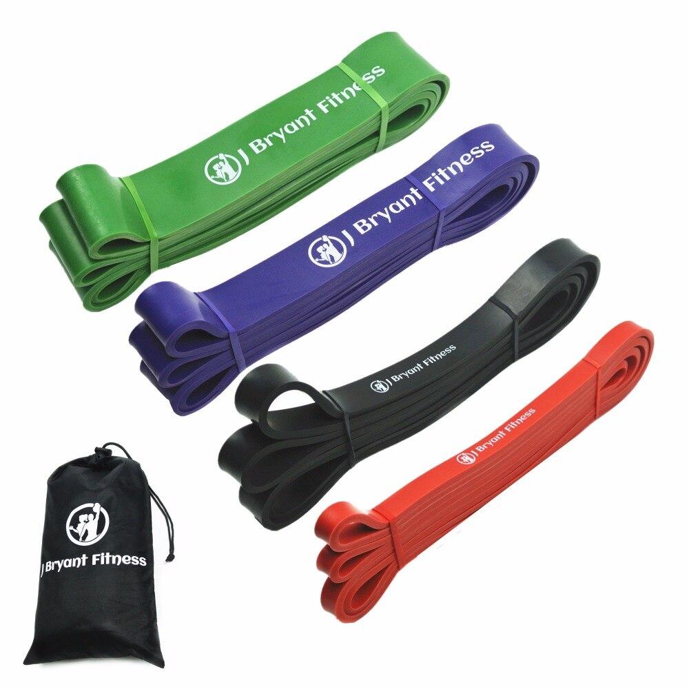 Nach Oben ziehen Assist Widerstand Bands Sets 4 Ebenen naturlatex Sportlich Power Gummibänder Schwere Workout Fitness Ausrüstung