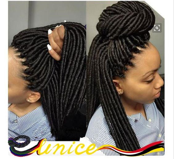 Crochet Suit Hair Dreadlock Hair Style Synthetic