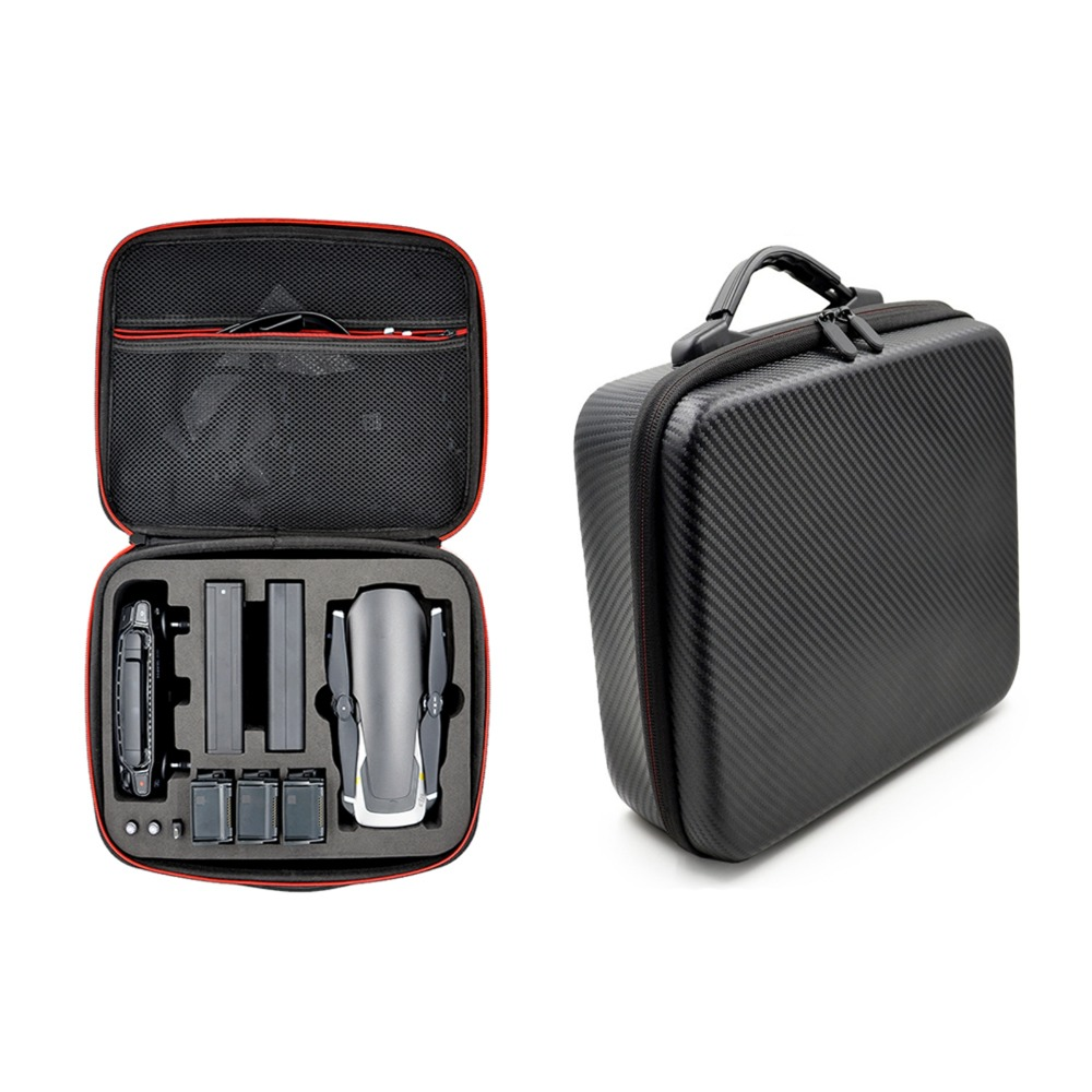 MASiKEN Storage Bag PU EVA Hard Carry Case Handbag for DJI Mavic Air Drone Body Batteries Controller Box Protable Accessories