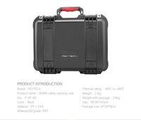 PGYTECH veiligheid draagtas voor Spark Camera Waterdichte Harde EVA foam Apparatuur Carrying