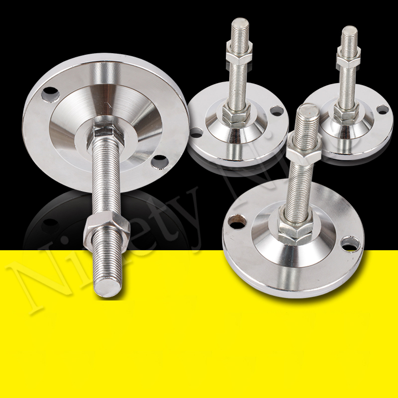 M8/10/12/16/20/24 Threaded Adjustable Furniture Heavy Duty Furniture Leveler Leg Levelers For Cabinets Or Tables To Adjust Hight