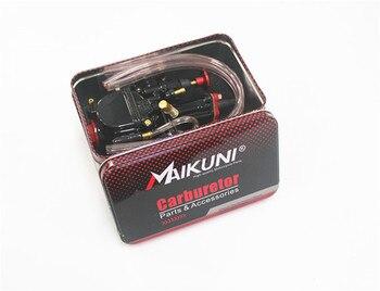 Carburador de motocicleta de alta calidad 28mm 28 30 32 34 Mm Carburador Mikuni Universal piezas de Carburador Scooters con Power Jets