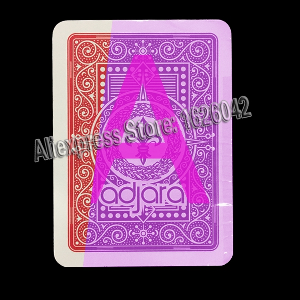 Marked Cards Modiano Adjara Invisible Playing Cards For Poker Lenses Perspective Glasses Magic Toolment bicycle karnival earthtone9 deck playing cards